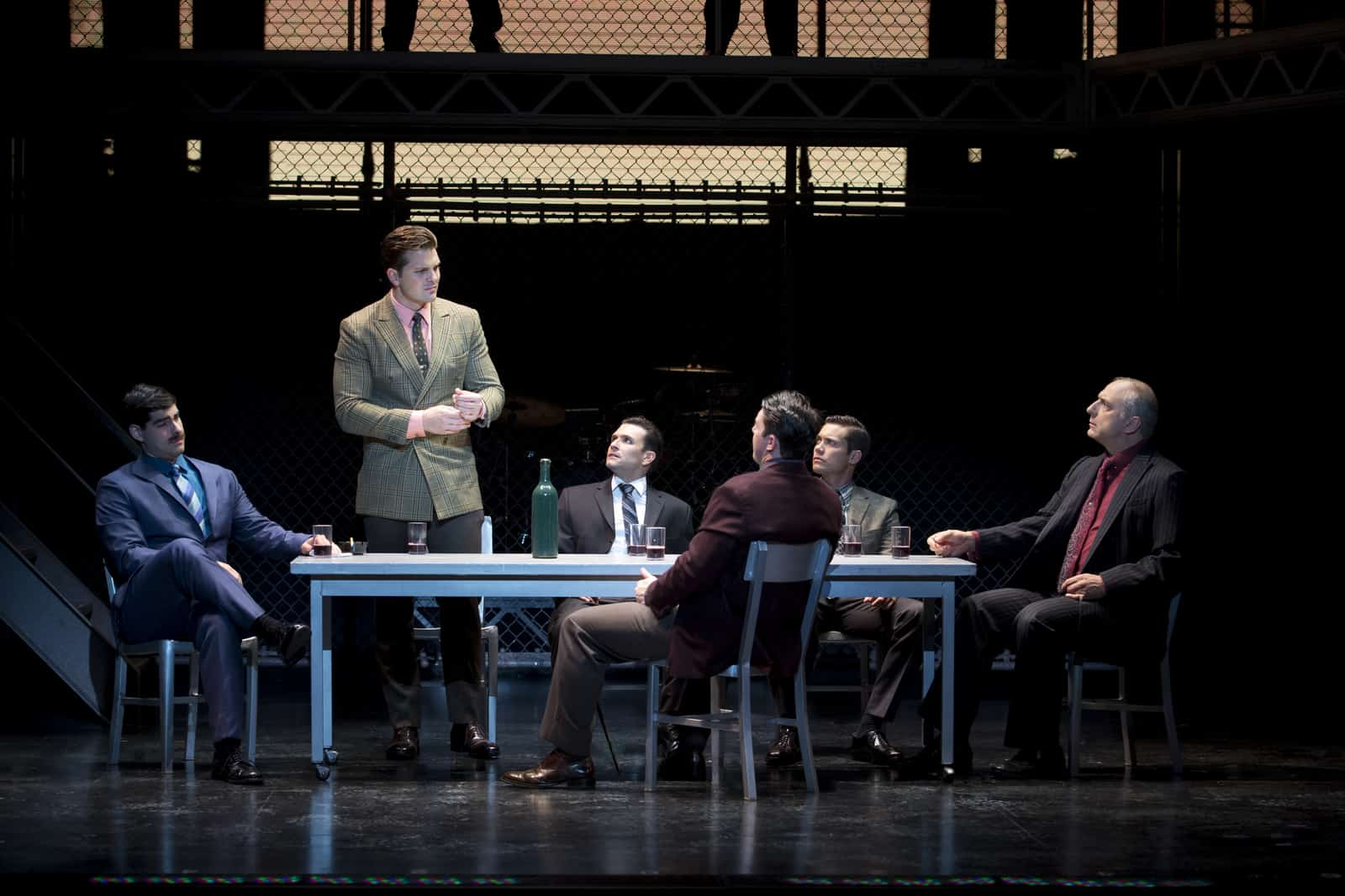 jersey boys musical review essay From director clint eastwood comes the big-screen version of the tony award-winning musical jersey boys the film tells the story of four young men from th.
