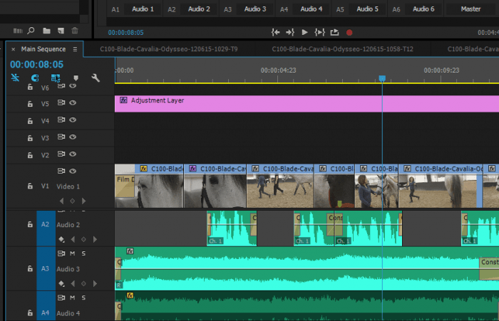 Voice-over in Premiere Pro
