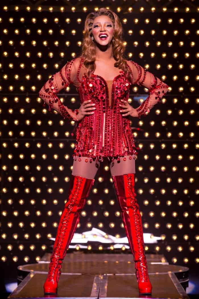 J. Harrison Ghee in the National Tour of Kinky Boots