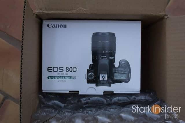 Canon EOS 80D Unboxing
