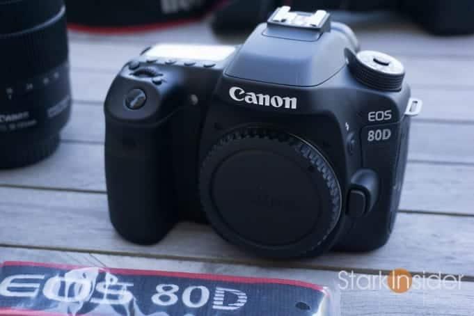Canon EOS 80D - Shooting Video
