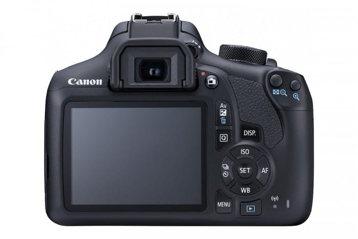 Canon EOS Rebel T6 LCD and buttons
