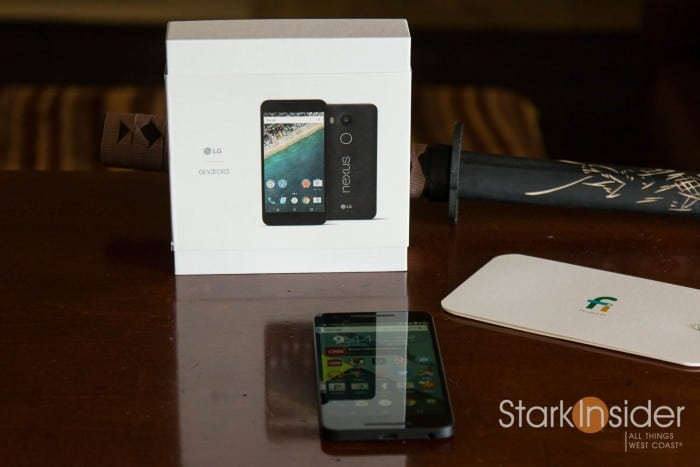 LG Nexus 5X and Project Fi Hands-On Experience