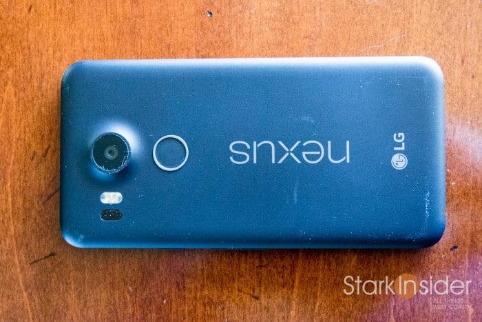 LG Nexus 5X Backside