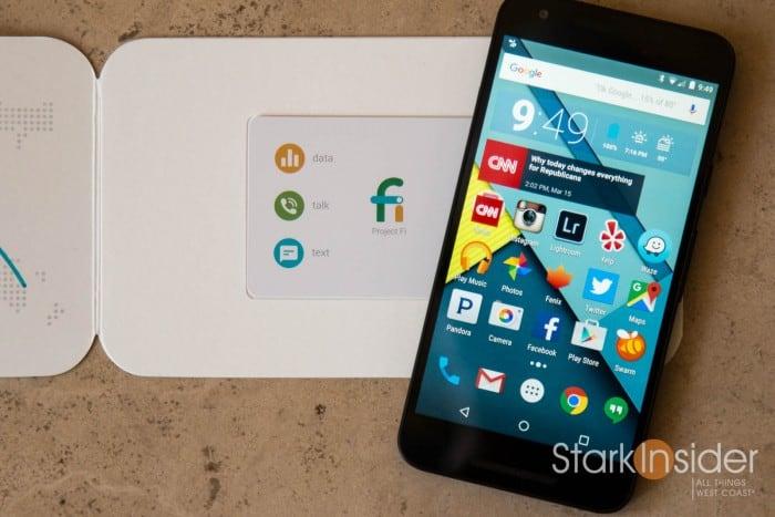 Google Nexus 5X and Project Fi