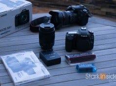 Canon EOS 80D and 70D DSLRs
