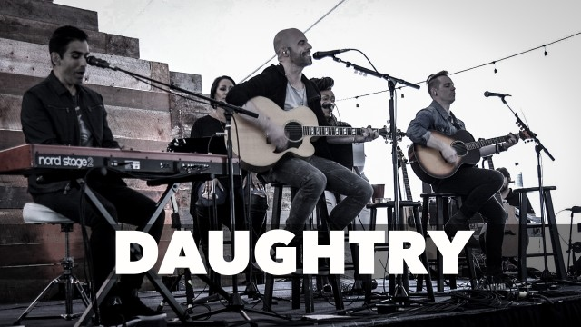 Chris Daughtry Torches - Live in the Vineyard Napa