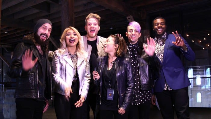 Pentatonix Live Napa Interview Concert