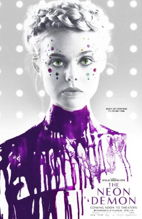 The Neon Demon Official Movie Poster - Elle Fanning