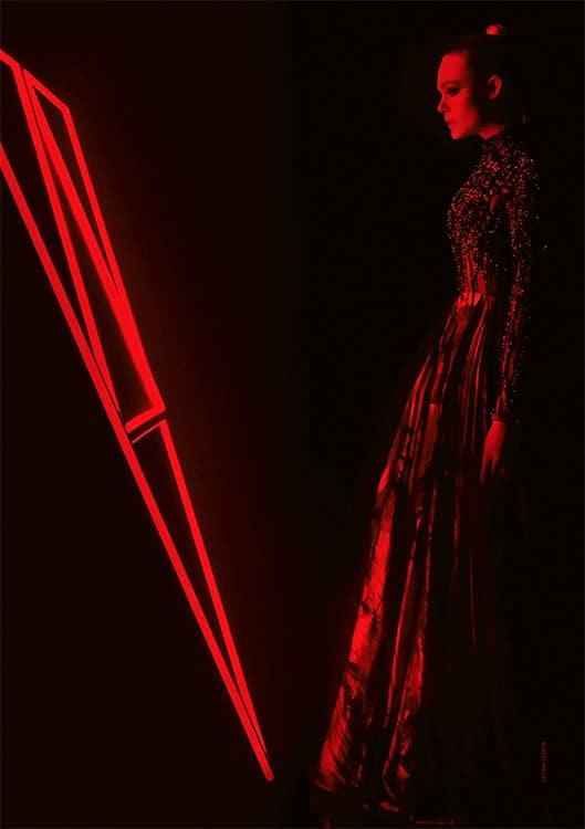 Elle Fanning stars in The Neon Demon