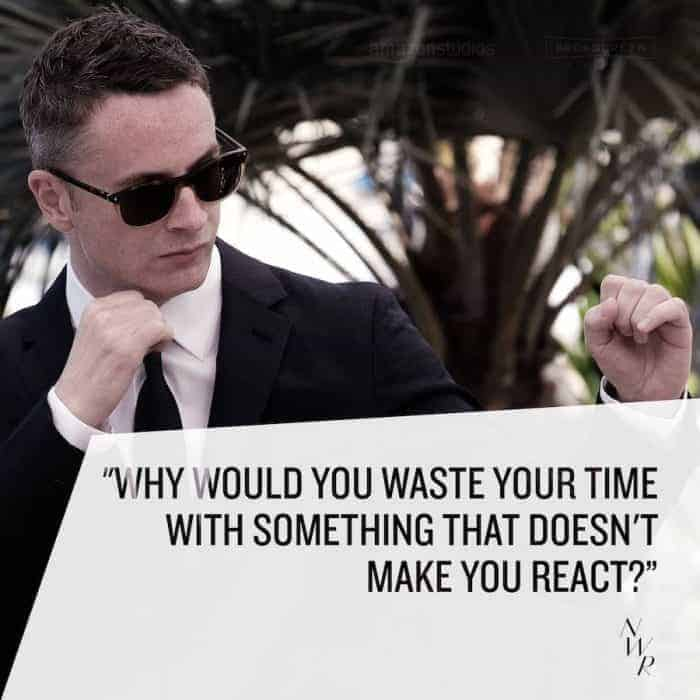 Nicolas Winding Refn Quote from Cannes - The Neon Demon