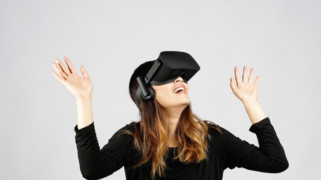 Oculus Rift Intel Experience at Best Buy - Virtual Middle Finger