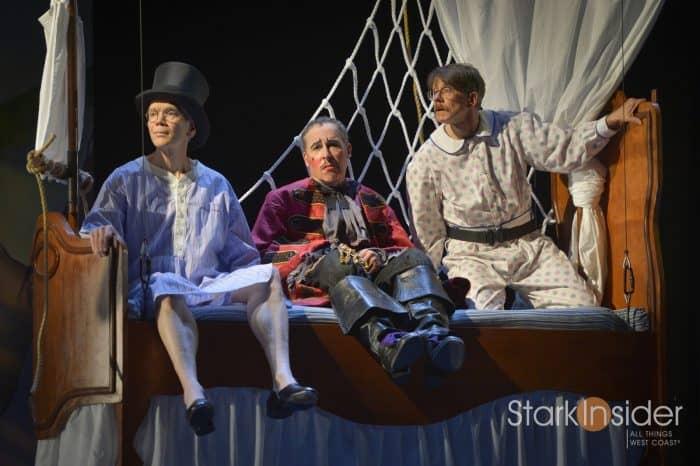 (l to r) Charles Shaw Robinson (John), David Chandler (Jim), and Keith Reddin (Michael)