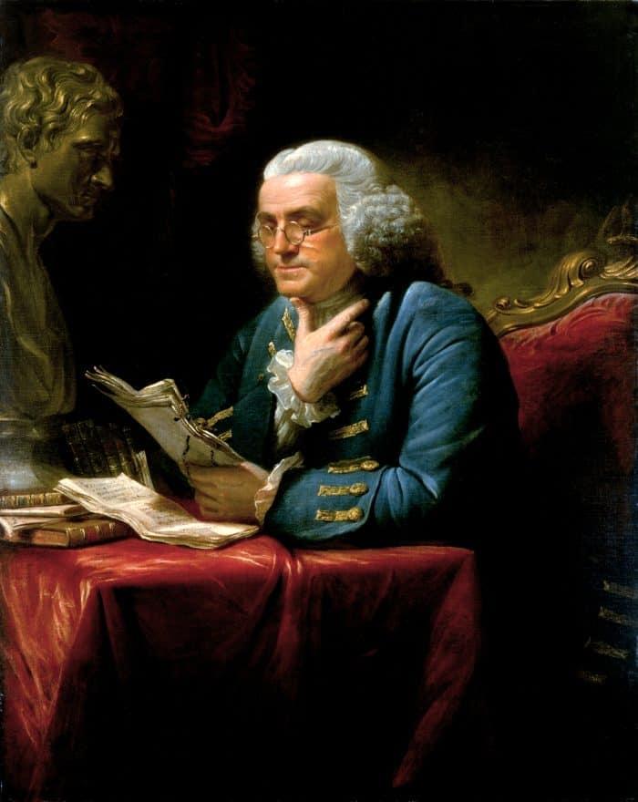 Benjamin Franklin inventor eyeglasses