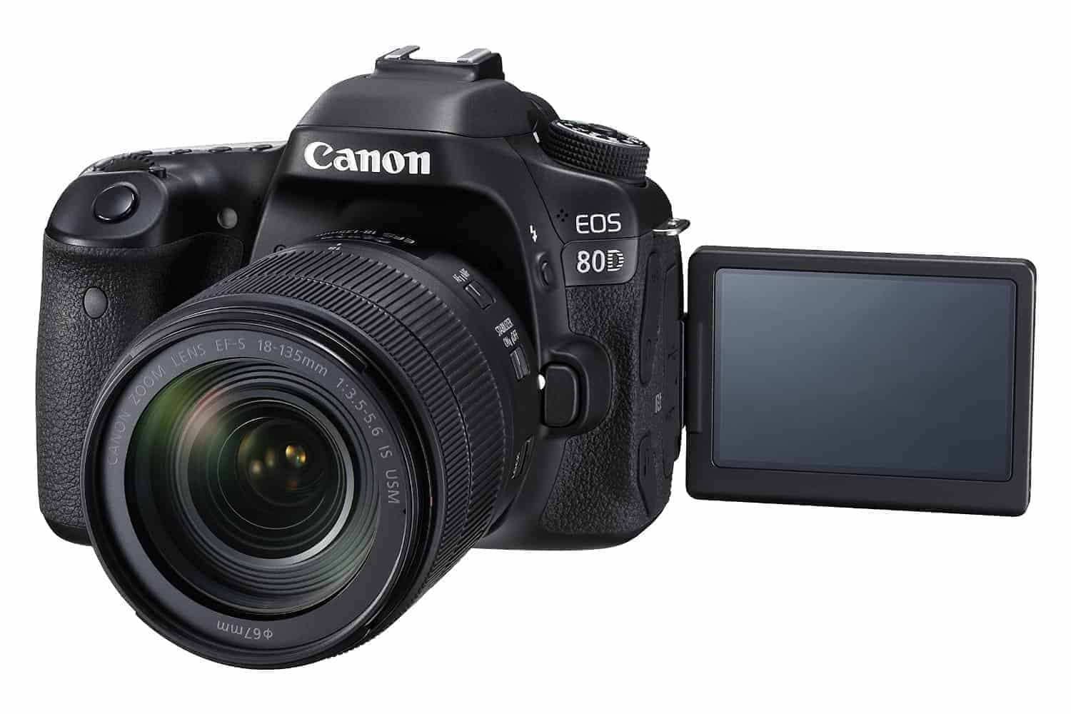Canon eos 80d digital slr kit with ef s 18 135mm f 3 5