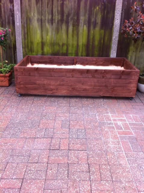 Diy how to build your own vegetable planter box download for Vegetable garden planter box designs