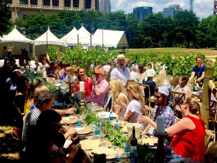 Grapetionary from A to Z Sommelier Wine Lunch - 2016 Atlanta Food & Wine Festival