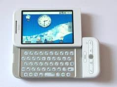 HTC Google T1 Phone - 2008