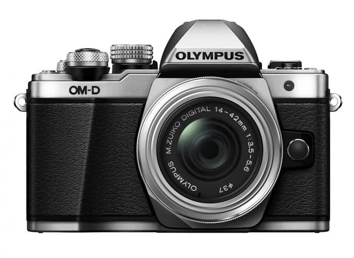 Olympus OM-D E-M10 Mark II Mirrorless Digital Camera with 14-42mm EZ Lens