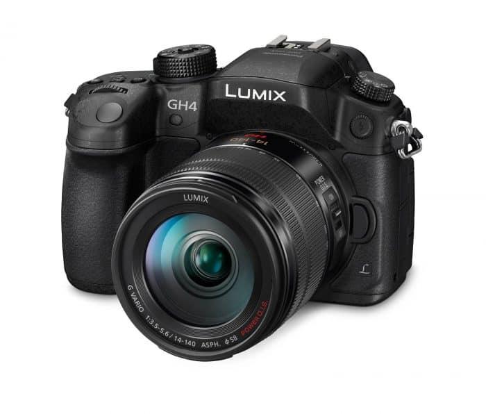 Panasonic DMC-GH4 Mirrorless Micro Four Thirds Digital Camera with Lumix G Vario 14-140mm Lens