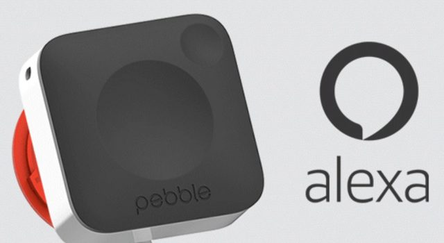 Pebble Core - Amazon Alexa voice recognition announcement