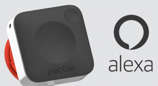 Pebble Core - Amazon Alexa voice recognition announcement