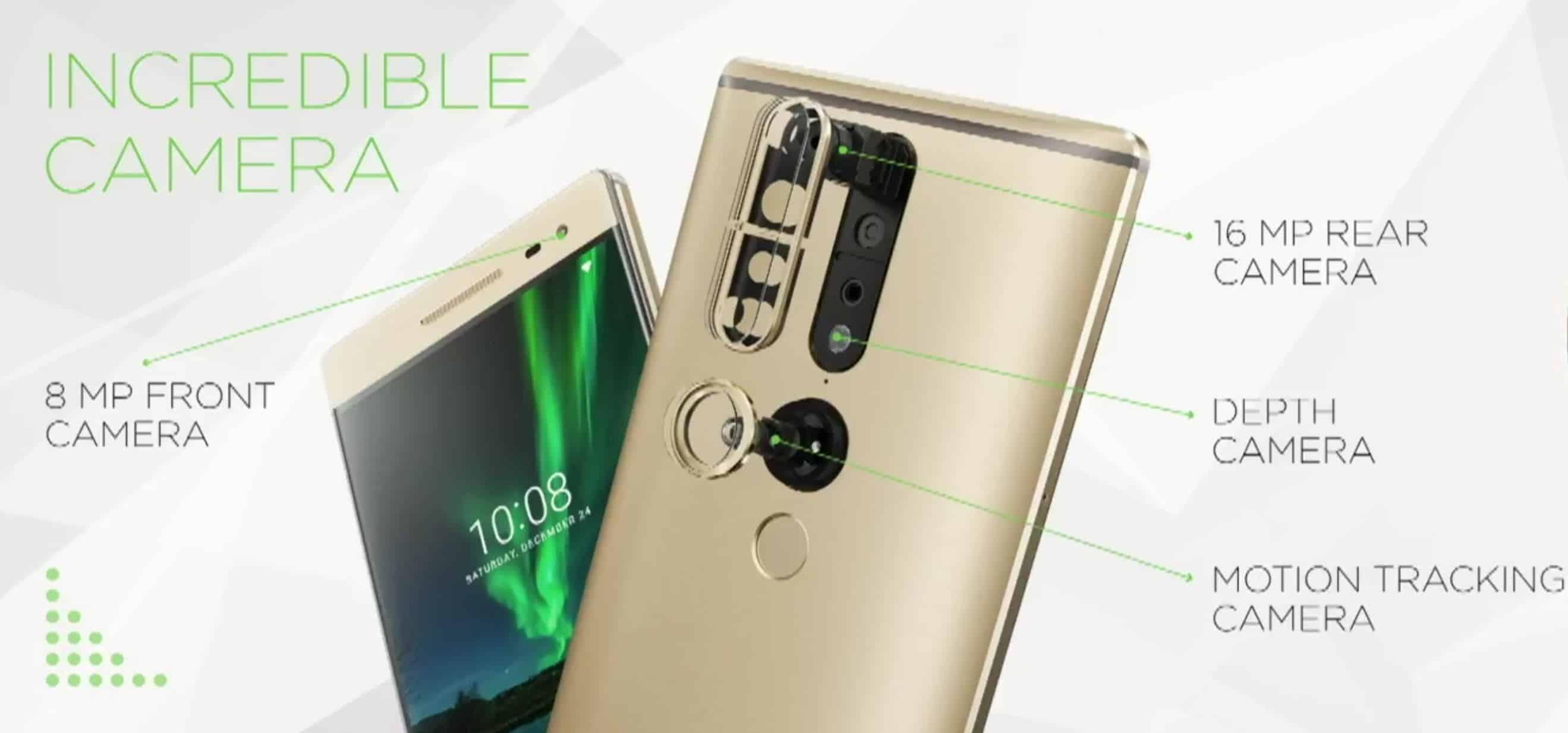 Phab 2 Pro: Lenovo reveals world's first Tango-powered ...