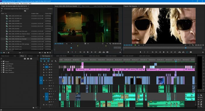 Adobe Premiere Pro - Sound Editing Before and After