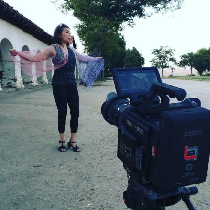 RED Raven - Loni Stark at San Juan Bautista