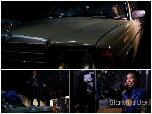 Loni Stark - Driving fast, receiving mysterious phone call