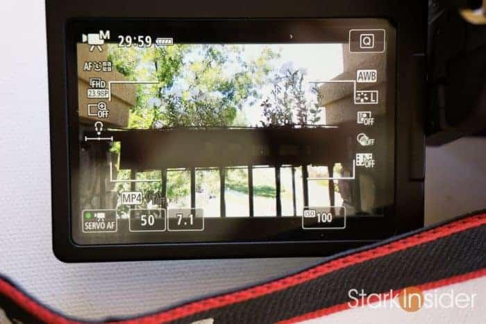 DSLR Tips: Shooting Video with Canon EOS 80D DSLR Camera