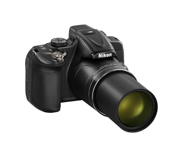 Nikon COOLPIX P600 16.1 MP Wi-Fi CMOS Digital Camera with 60x Zoom NIKKOR Lens and Full HD 1080p Video (Black)