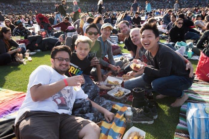 San Francisco Opera at the Ballpark - AT&T Park - Carmen 2016