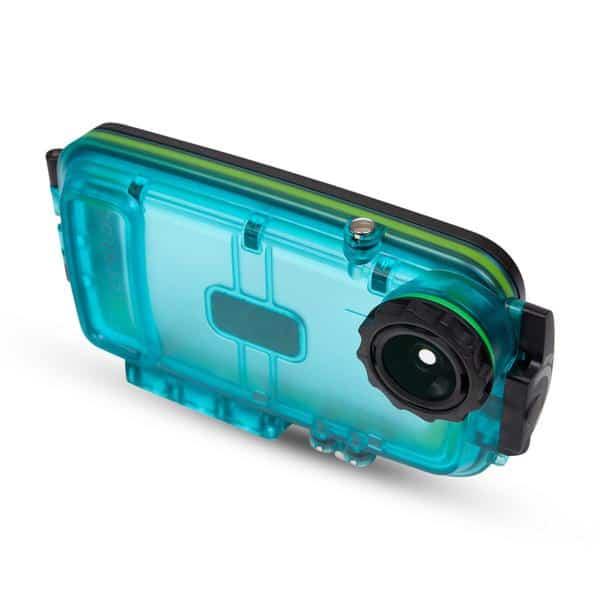 Watershot SPLASH Housing Kit iPhone® 6/6s Cyan