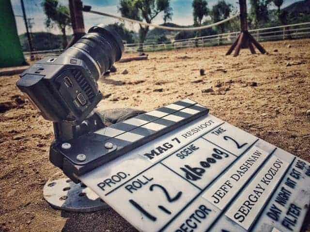 Blackmagic Pocket Cinema Camera on the set of 'Ben Hur' (2016)