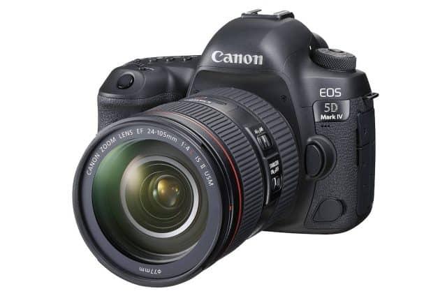 Canon EOS 5D Mark IV Full Frame DSLR Camera