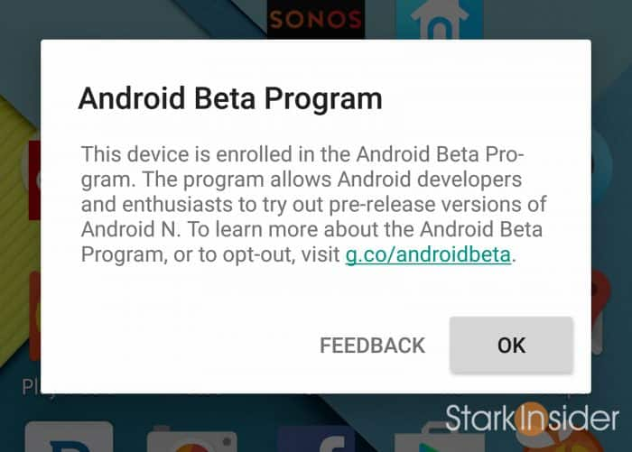 Android 7.0 Nougat What's New: Anrdoid Beta Program