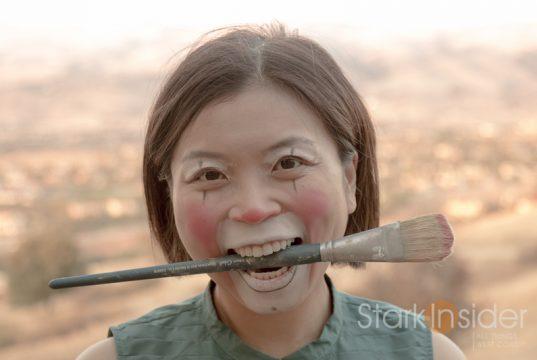 Loni Stark the Oil Painting Clown