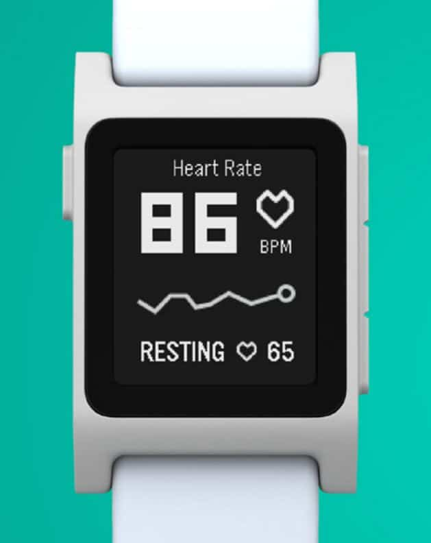 Pebble-Heart-Rate-Monitoring-Interface