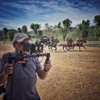 Shooting 'Ben Hur' action sequence with the Blackmagic Pocket Cinema Camera.