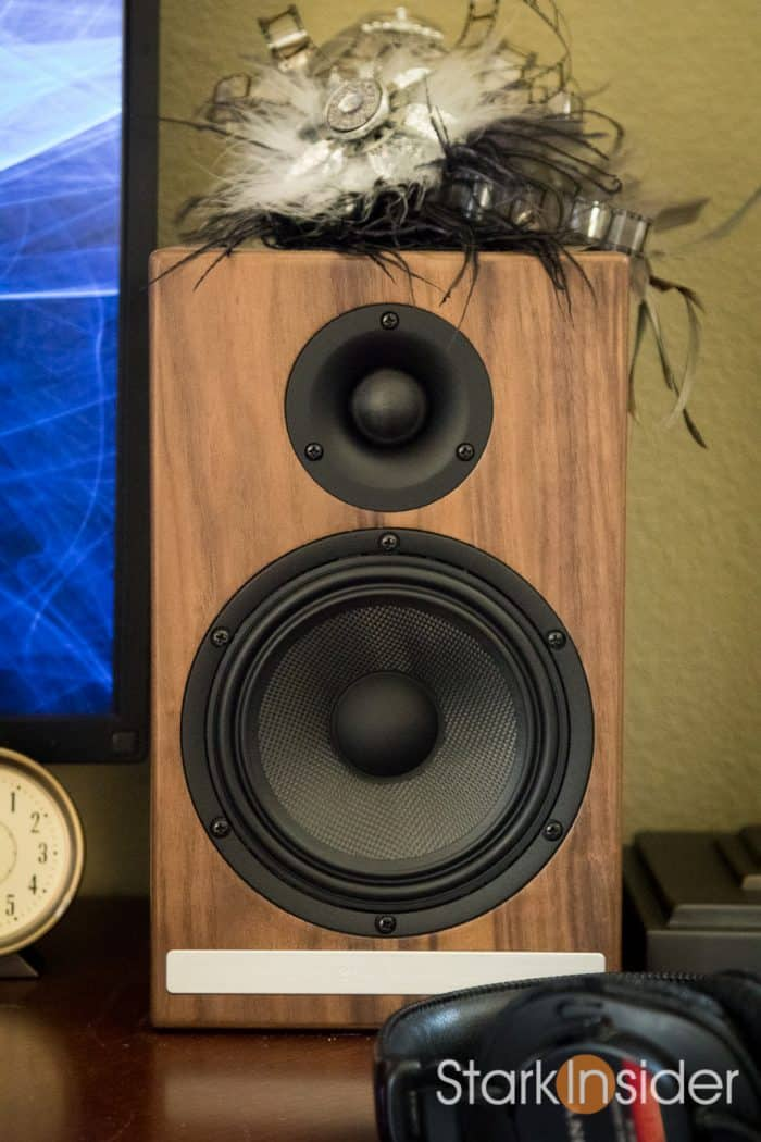 Audioengine HD6 Powered Speakers Walnut - review