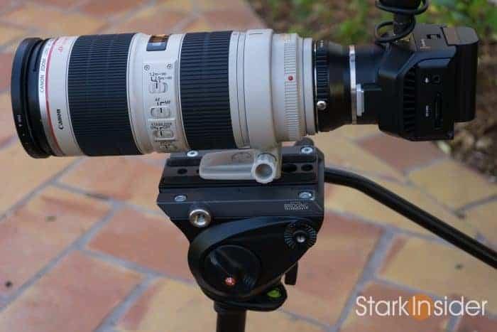 Blackmagic Micro Cinema Camera Short Review Test