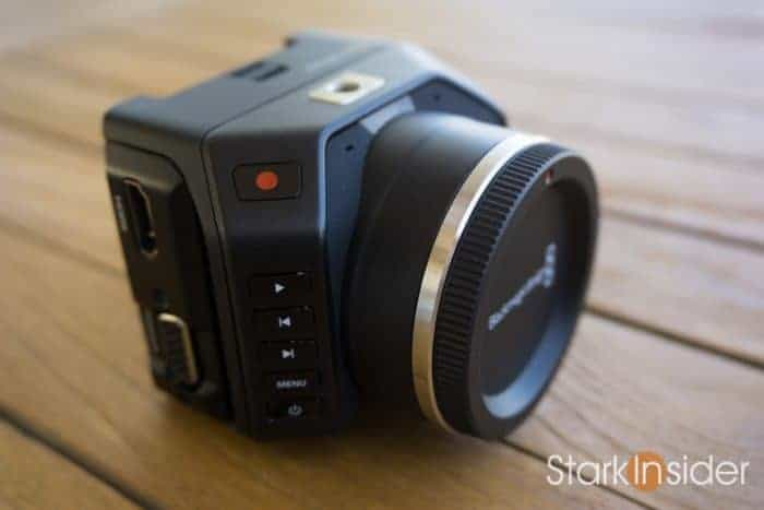 Blackmagic Micro Cinema Camera Short Review Test
