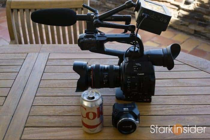 Canon C100 II vs Blackmagic Micro Cinema Camera (BMMCC)