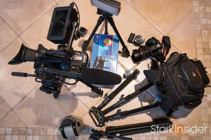 Clinton Stark - What's in my video bag? DSLR filmmaking gear explained