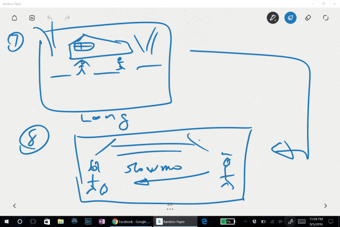 Coffee Lane storyboard 2