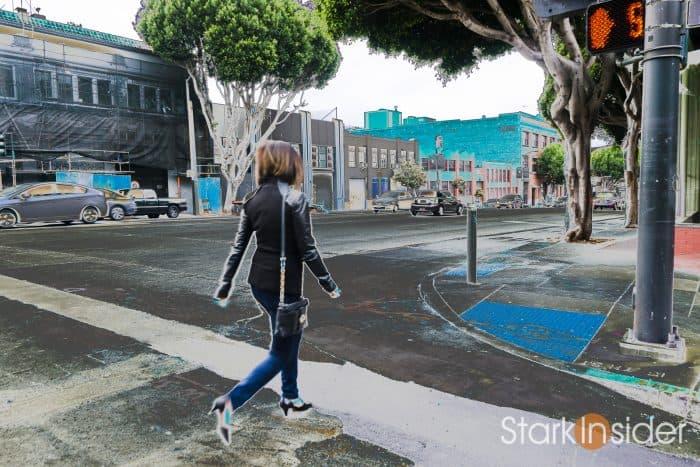 Loni Stark on location - San Francisco