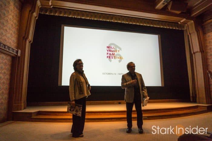 Programming director Zoe Elton and founder Mark Fishkin - Mill Valley Film Festival