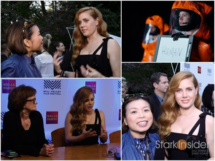 Amy Adams ARRIVAL - Interview Mill Valley Film Festival