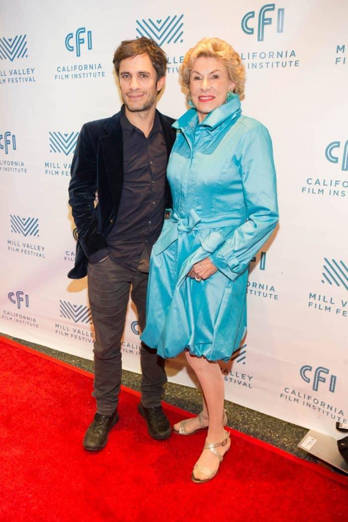 Gael Garcia Bernal with Jennifer MacCready at the Mill Valley Film Festival (Photo: Drew Altizer)